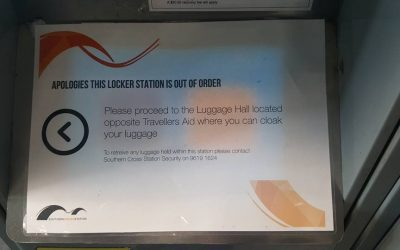 Southern Cross Station Lockers